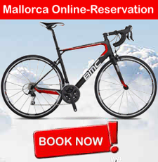 Online Reservation for Rental Bikes Mallorca